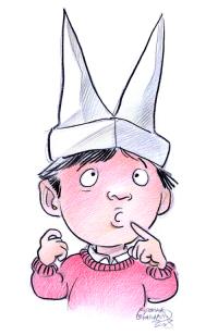 Comment dessiner un bonnet d ane - Dessiner un ane ...