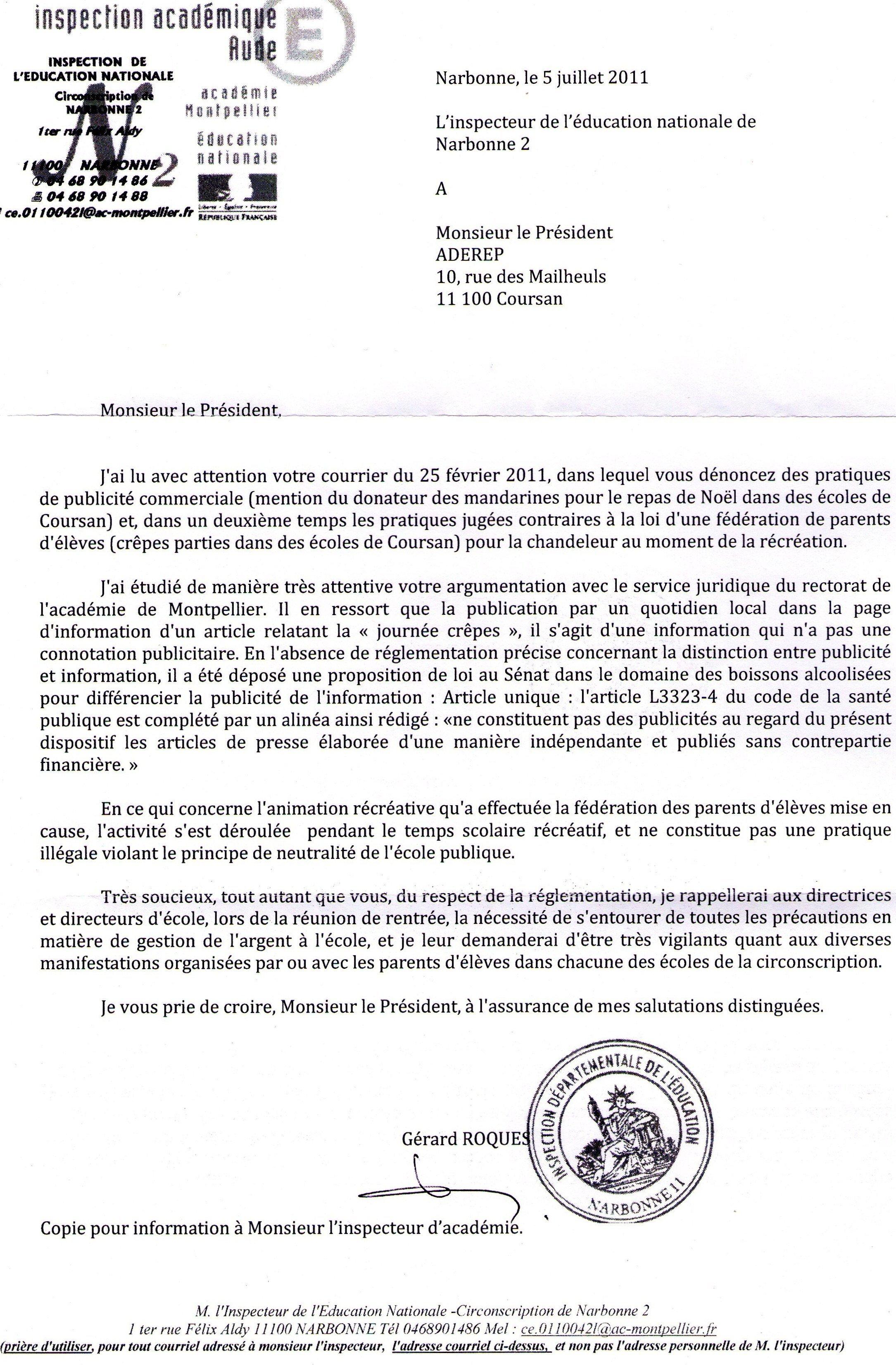 05.07.11 Lettre IEN Narbonne2