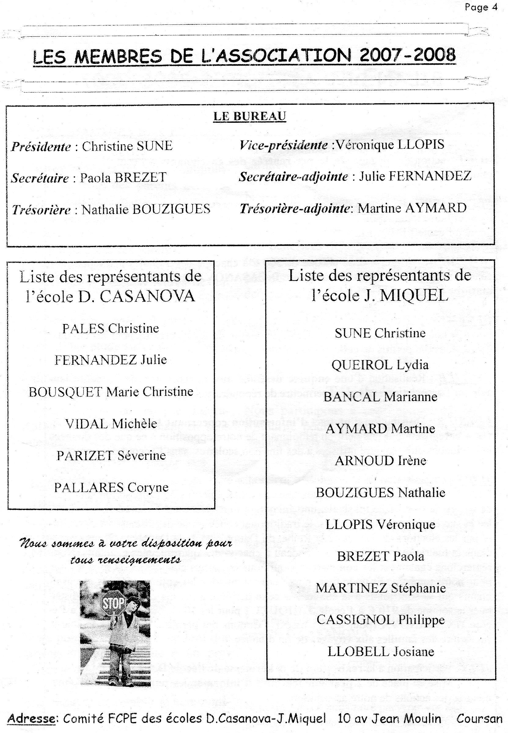 Bulletin d'information du Comité 2007